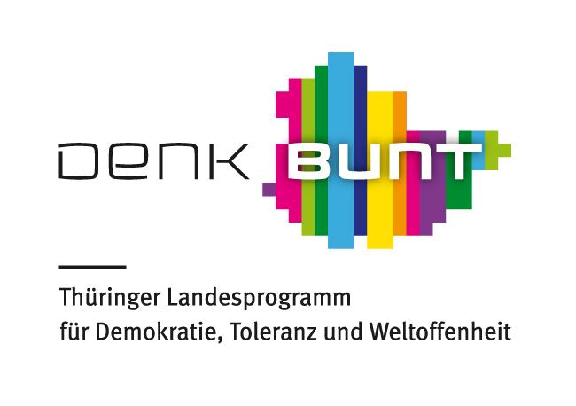 Logo Thüringer Landesprogramm für Demokratie, Toleranz und Weltoffenheit