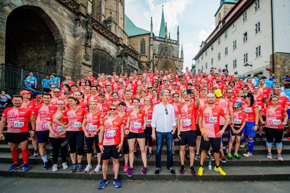 Gruppenfoto RUN Thüringer Unternehmenslauf