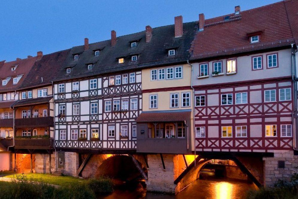 Kraemerbruecke Erfurt