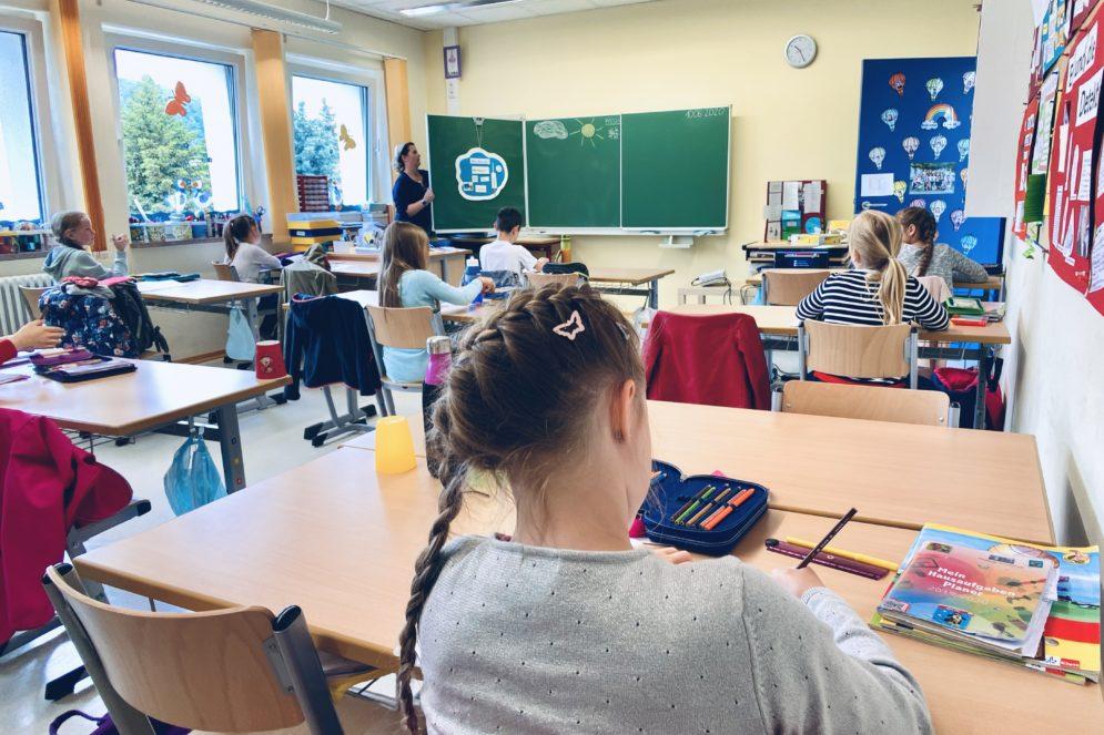 Unterricht an der Grundschule Buttlar