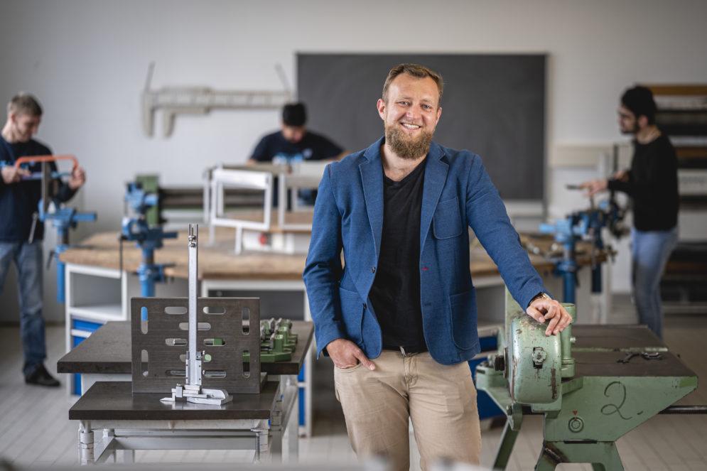 Thüringer Berufsschullehrer für Metalltechnik