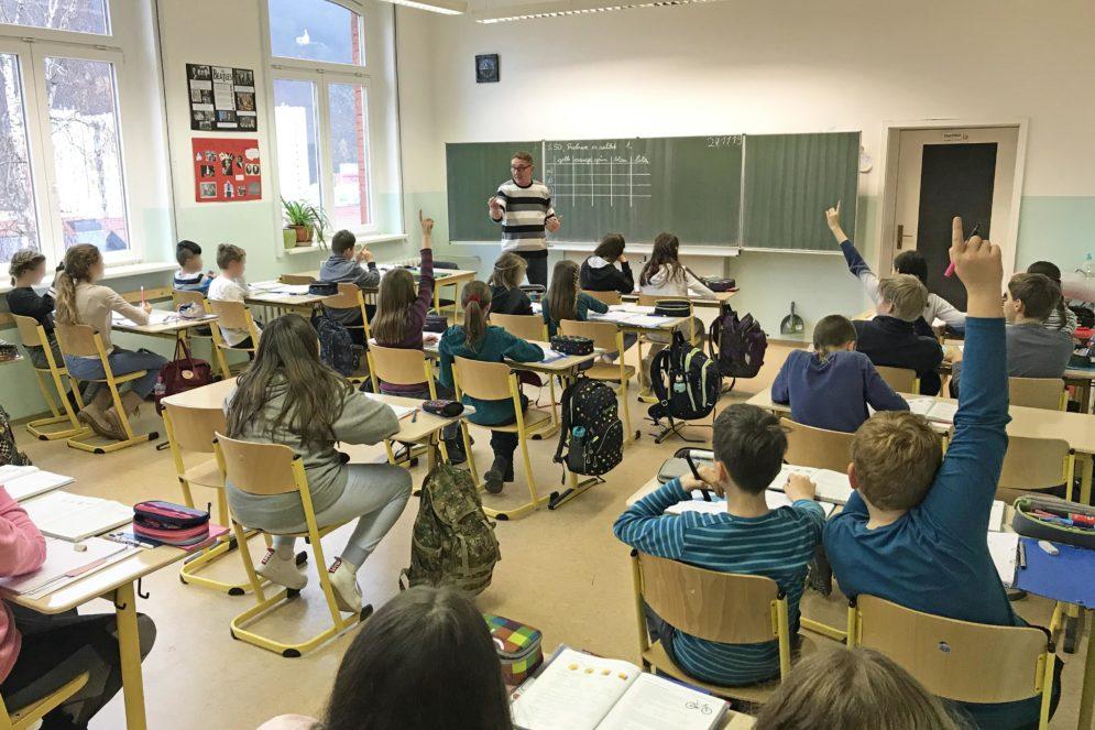 Unterricht am Friedrich-König-Gymnasium Suhl