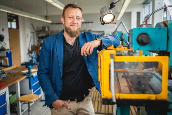 Erik Graul ist Berufsschullehrer in Gotha.