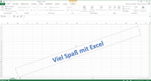 Excel Spaß